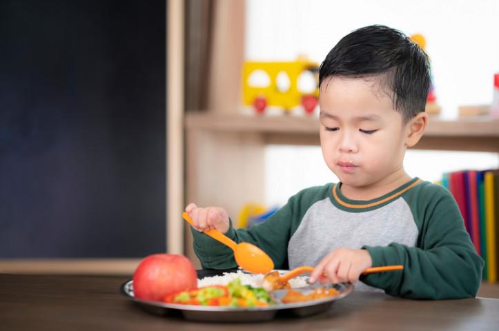 Porsi Makan Anak Sesuai Dengan Usianya